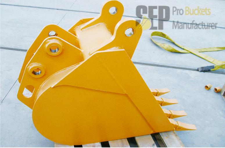 GP-CASE 580M Backhoe Wheel Loader Bucket