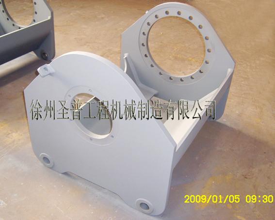 Frame-Parts-Winch bracket